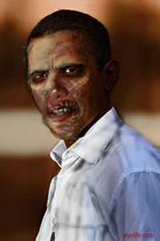 Obama the Zombie Leader